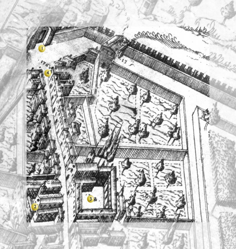 map of square 1